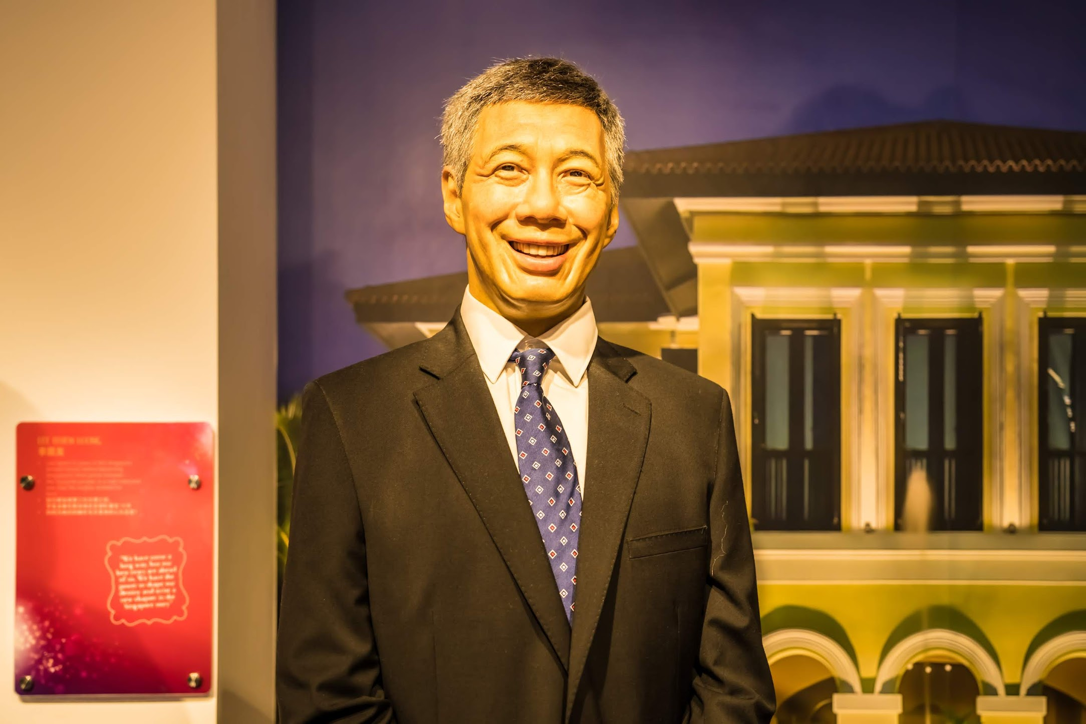 Singapore Sentosa Island Madame Tussauds Singapore Lee Hsien Loong