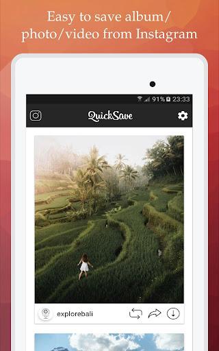 QuickSave for Instagram 2.2.7 screenshots 8