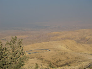 Photo: View towards the Dead Sea