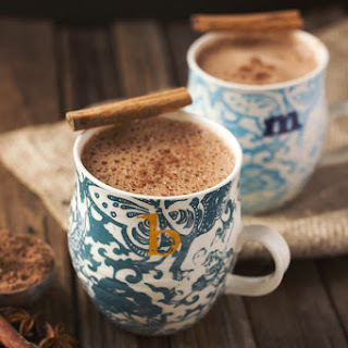 Chai Hot Chocolate (vegan, dairy-free, nut-free).