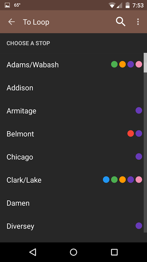 Transit Tracks: Chicago CTA- screenshot