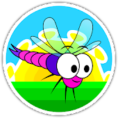 Dragonflies - Path Draw Puzzle