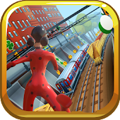 Subway Lady Bug Adventure Running Game 3D Android APK Download Free By DOUNIA