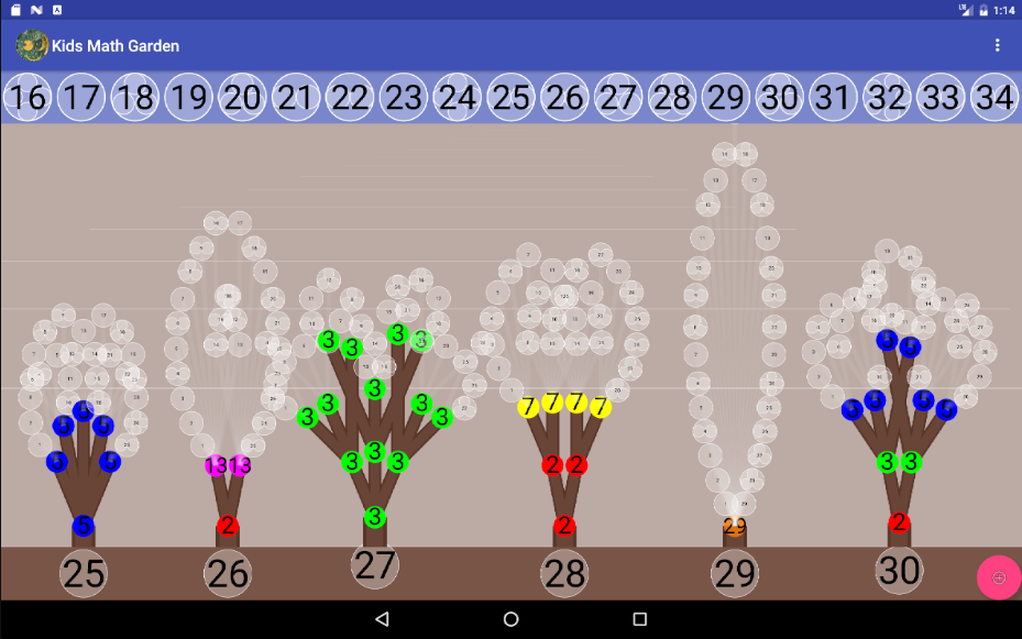 Kids Math Garden- screenshot