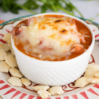 Creamy Tomato Soup with Chicken and Sausage