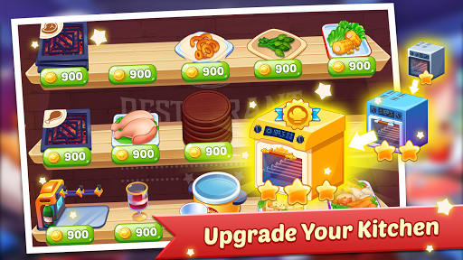 Code Triche Cooking Family : Craze Restaurant Food Game APK MOD screenshots 3