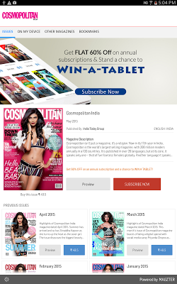 Cosmopolitan India - screenshot