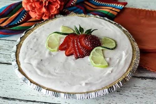 Frosty Strawberry Margarita Dessert