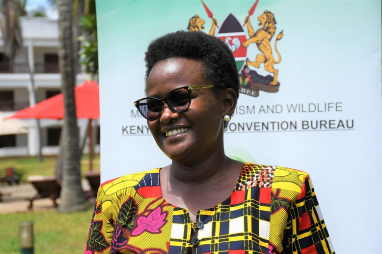Kenya National Convention Bureau National Coordinator/CEO Jacinta Nzioka-Mbithi/HANDOUT