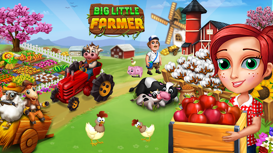 Big Little Farmer Offline Farm Screenshot