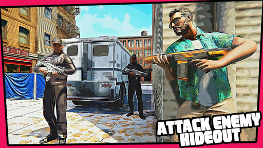 Miami Gangster Grand Town Heist: Real Gangster 3D 4.6 screenshots 5