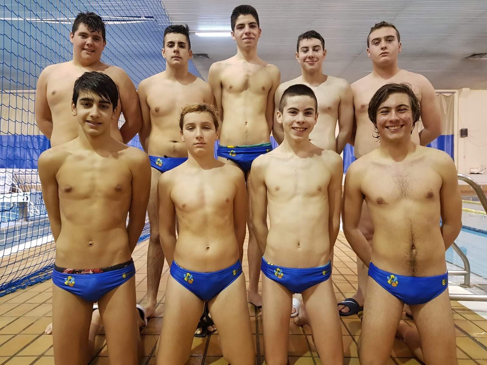 Suerte desigual para los cadetes del Waterpolo Algeciras