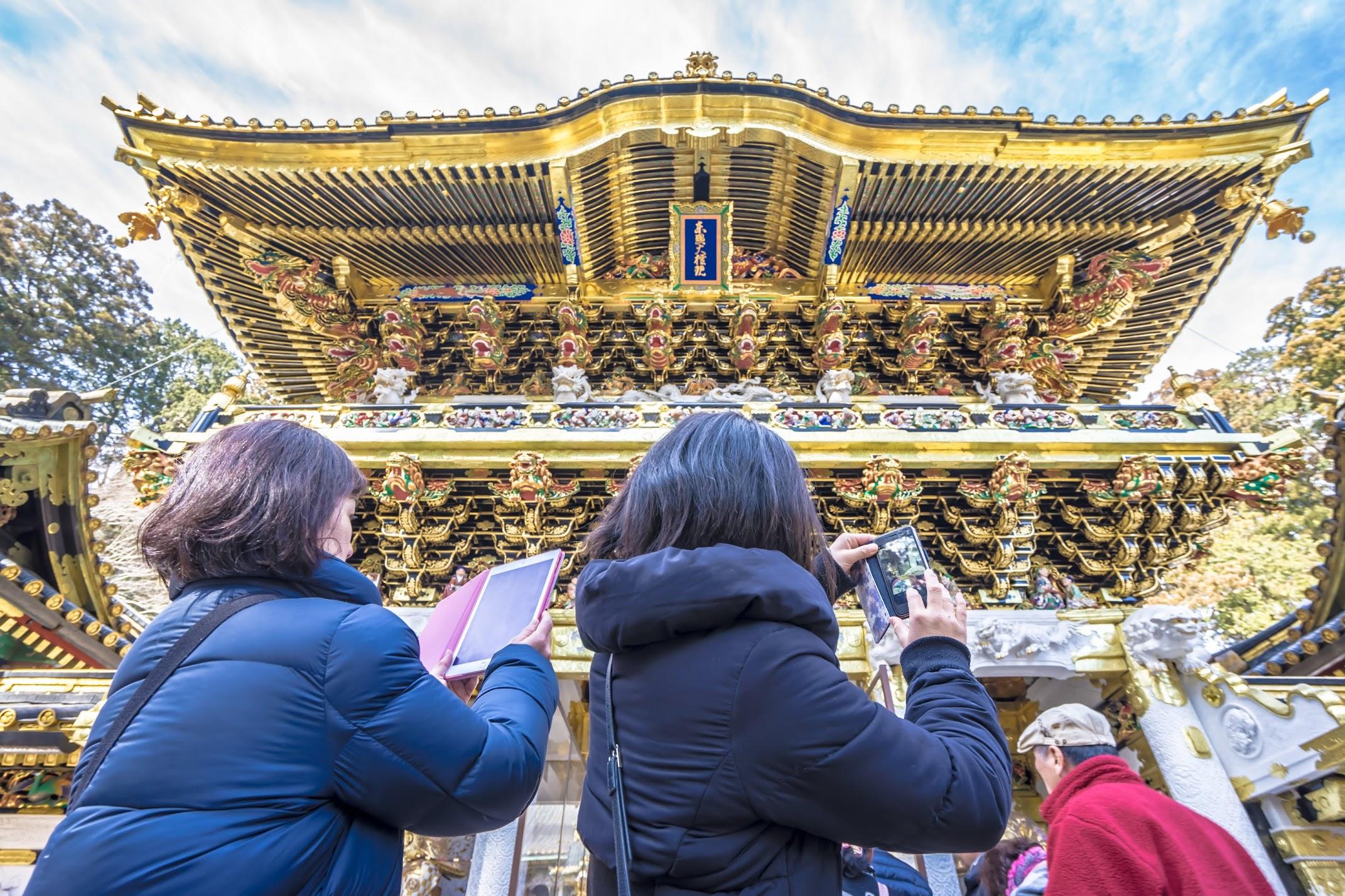 Nikko Toshogu Shrine Yomeimon Gate3