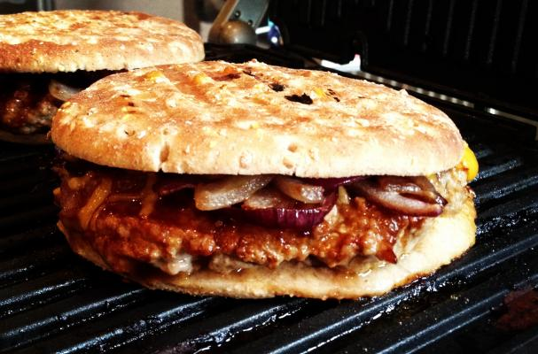 Pressed BBQ Turkey Burger Recipe