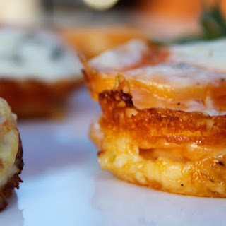 Scalloped Sweet Potato Stacks