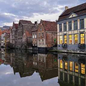 Ghent, Belgium by Adriana Yampey - Landscapes Travel