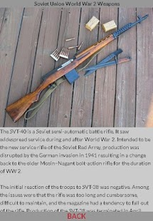 World War 2 Soviet Weapons - náhled
