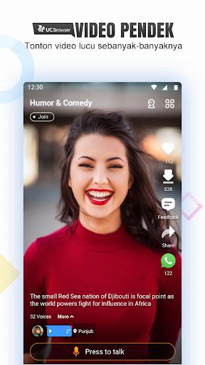 UC Status—App Baru UC, Video Lucu&Download Gratis screenshot 1