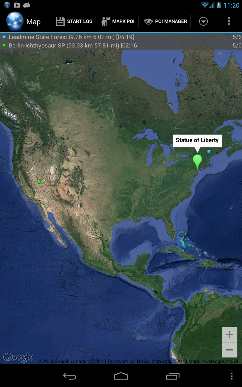 Ultra GPS Logger Screenshot 12