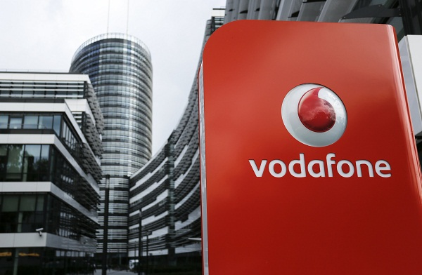 The headquarters of Vodafone Germany in Duesseldorf. Picture: REUTERS