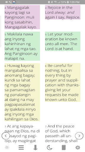 Tagalog Bible ( Ang Biblia ) with Audio 5.4 gameplay | AndroidFC 2