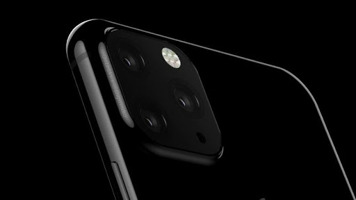 The camera set-up at the back of this year's iPhone is rumoured to look like this, according to digit.