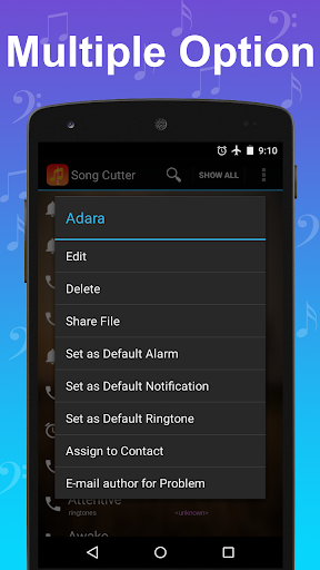Song Cutter-Music Editor 4.9 screenshots 9