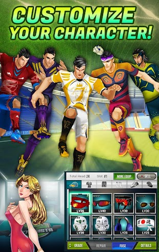 Football Saga Fantasista- screenshot thumbnail