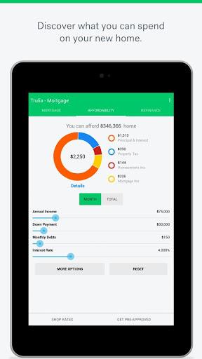 Trulia Mortgage Calculators  screenshots 7
