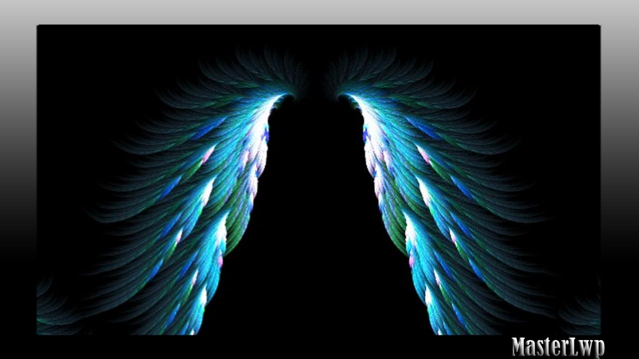 Angel Wings Wallpaper Screenshot