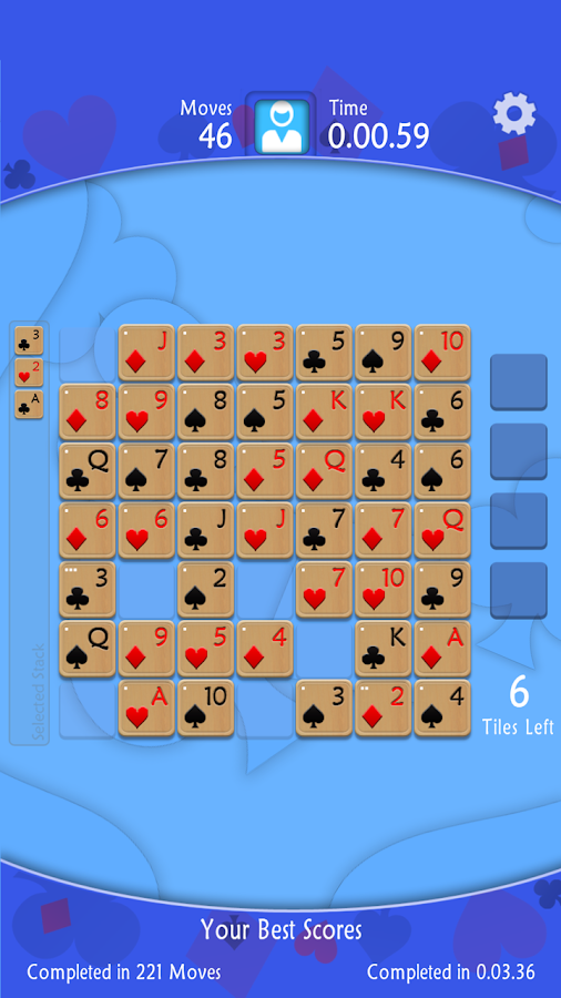 Solitaire Squares- screenshot