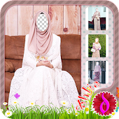 Hijab Abaya Photo Maker