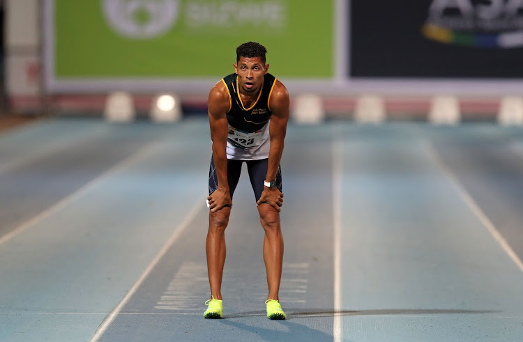 Wayde van Niekerk is on his way to the US before a trip to Europe next week.
