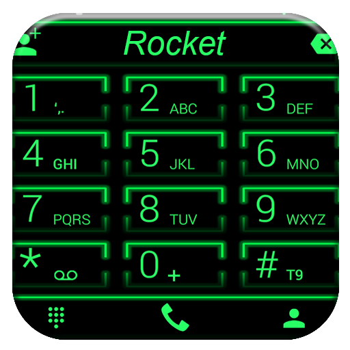 Theme x RocketDial Neon Green