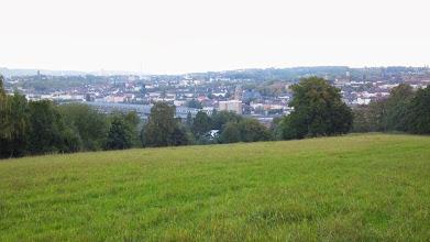 Photo: Altenhagen (mit Hinterland) vom Postkopf aus betrachtet.
