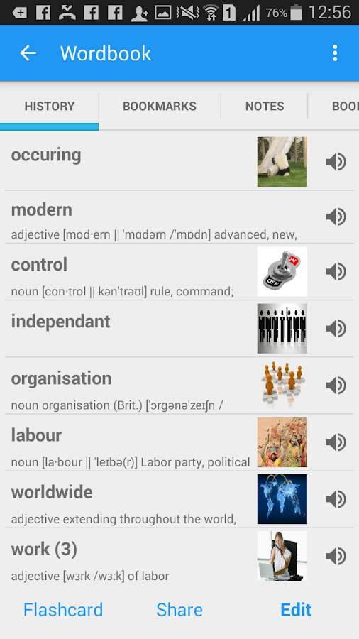 English Pashto Dictionary & Translator- screenshot