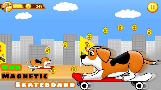 Beagle Run - Dog in the city