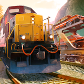 Car Transporter Train Driver: Car Delivery Game