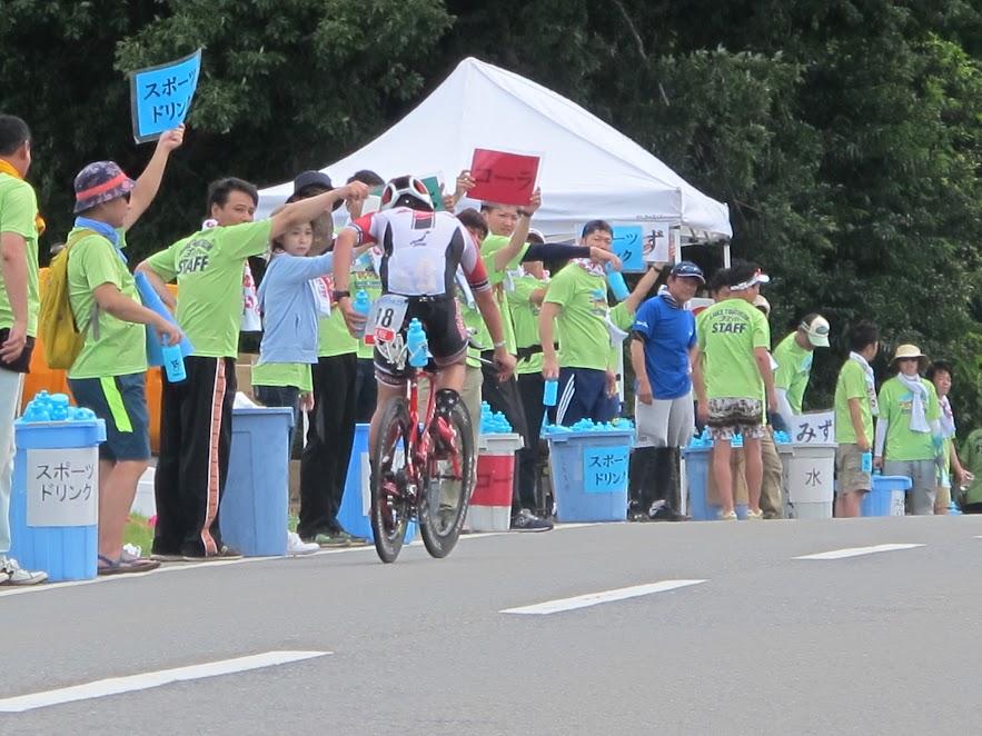 全日本トライアスロン皆生大会自転車部ボランティア