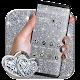 Silver Glitter luxury Dazzling Theme Download on Windows