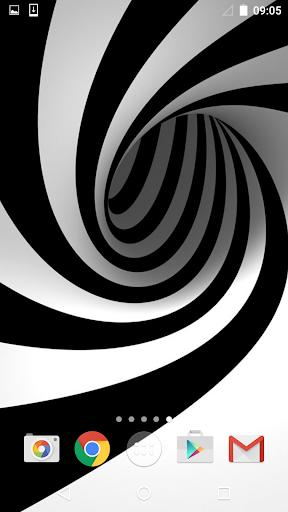 黑與白 動態壁紙