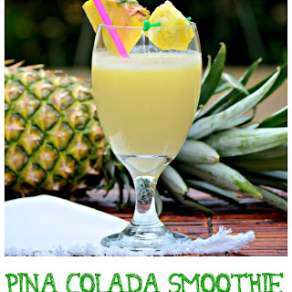 Virgin Pina Colada Smoothie.