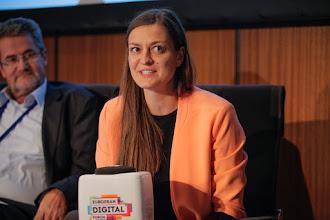 Photo: Miroslav Rebernik, co-author of the Slovenia Startup Manifesto and professor at the University of Maribor; and Eliza Kruczkowska, co-author of the Startup Poland Manifesto and president of Startup Poland