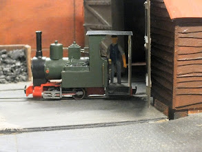 Photo: 024 The only other loco that I spotted at Watt Estate on this visit was this little Orenstein & Koppel, built on a Fleischmann Piccolo 7000 chassis. There was no sign while I was there of the wide range of IC locos and Heywood style stock that I have seen on previous encounters with the layout – oh well, I will look out for a future appearance at another show as it really is a very attractive layout indeed .