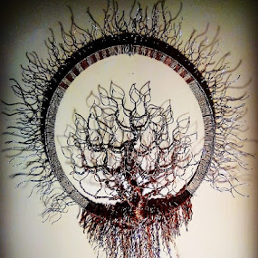 fibinatree by Brian Boyer - Artistic Objects Other Objects ( wire, copper wire tree, tree, recycle, copper, copper wire )