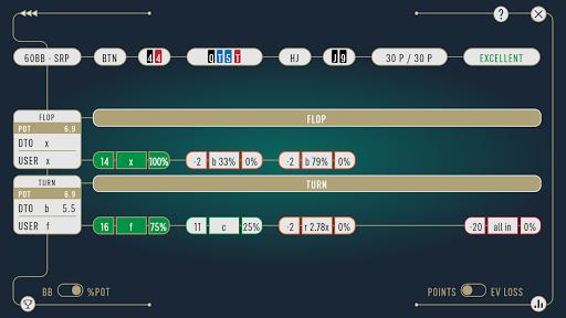 DTO Poker - Your GTO MTT Poker Trainer 2.7.3 screenshots 8