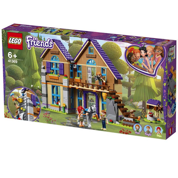 Contenido de Lego® 41369 Casa de Mia