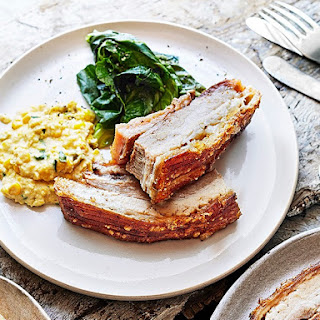 Low and Slow Pork Belly with JalapeñO Creamed Corn Recipe