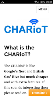 Introducing The CHARioT Device- screenshot thumbnail