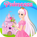 Fairy Princess Puzzle for Girl Education icon